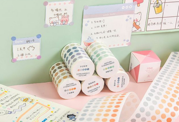 Kawaii Dots Washi Tapes