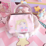 Magic Girl Clip Coin Purse