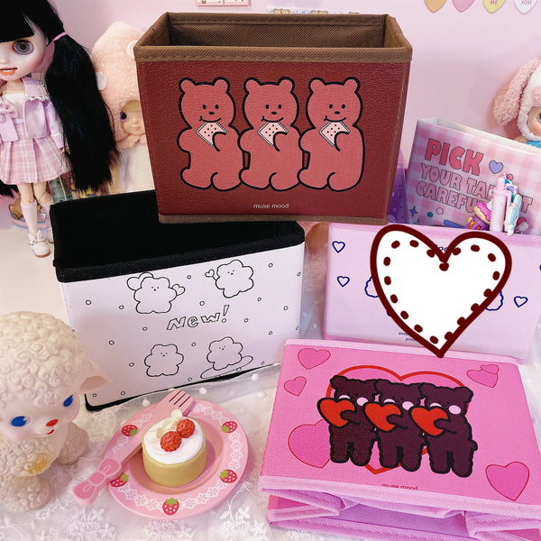 Korean Bear Storage Box