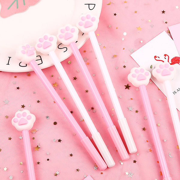 IBentoy Cute Cat Paw Gel Pen