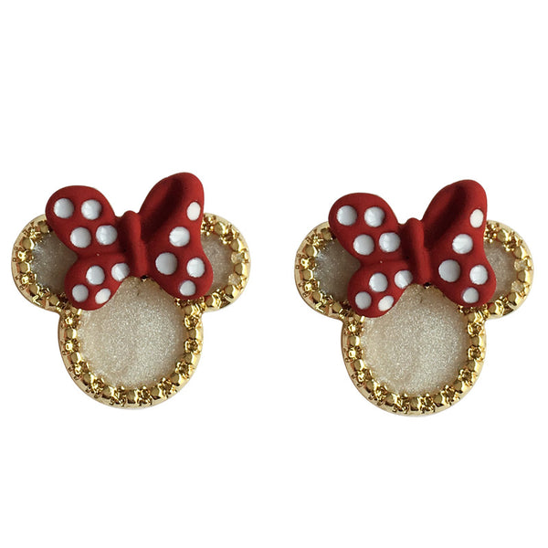 Creative Bow-knot Mickey Earrings