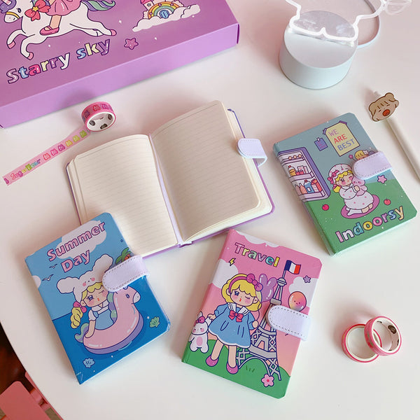 Balloon Girl Diary Gift Box
