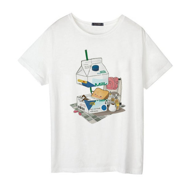 Strawberry Yogurt Kawaii Tee