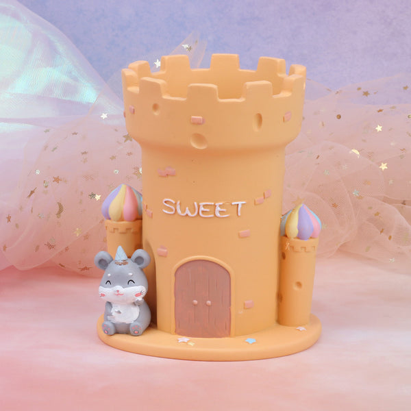 Hamster Castle Pen Holder