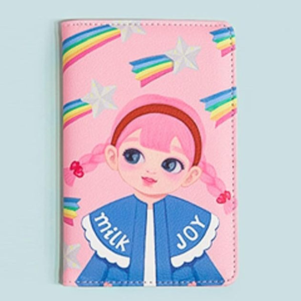 Milkjoy Dolly Girl ID Leather Clip