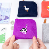 Bentoy Cute Fillet Embroidered Coin Purse
