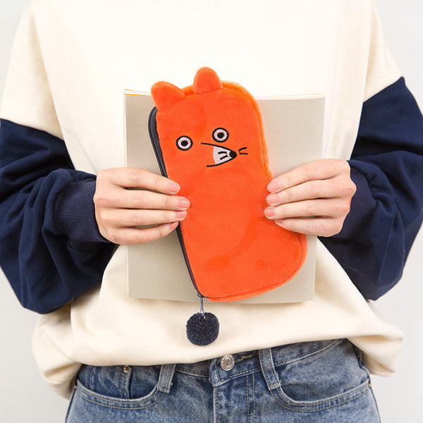 Cute Animal Shape Pencil Case