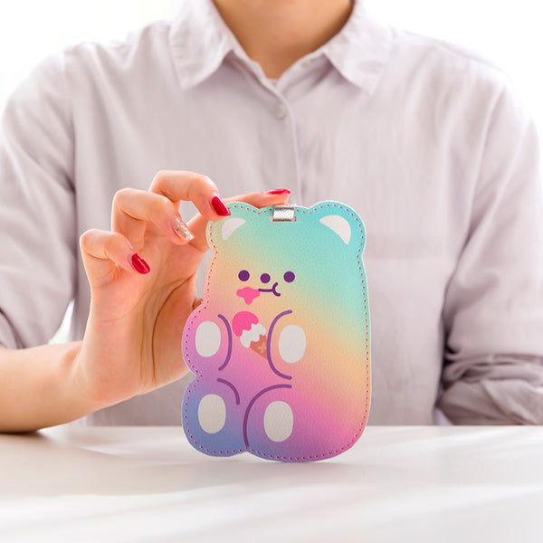 Milkjoy Cartoon Gummy Bear Luggage Tag