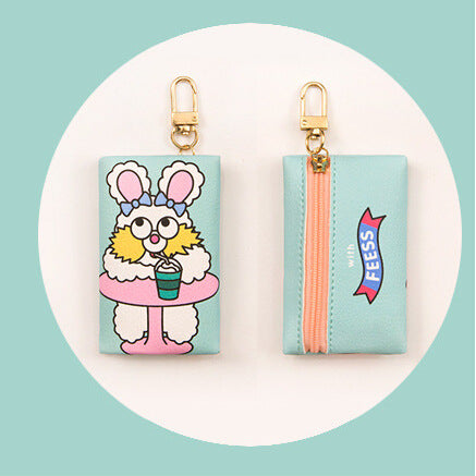 Milkjoy Fez Rabbit Charm Key Holder