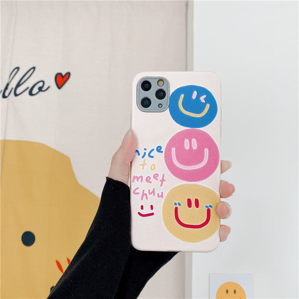 Couple Smiling Face Phone Case