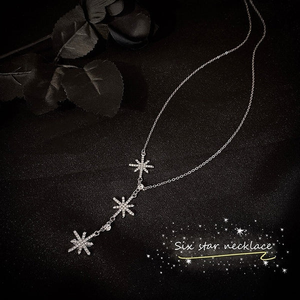 Six Pointed Star Necklace