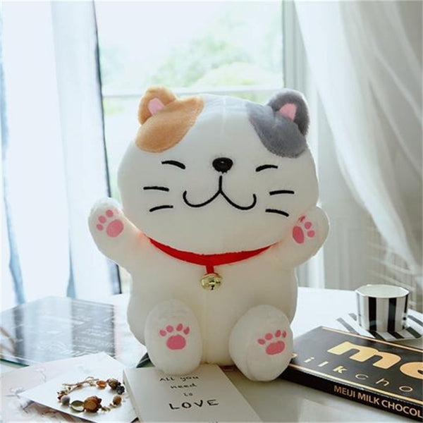 Japanese Cat Plush Doll