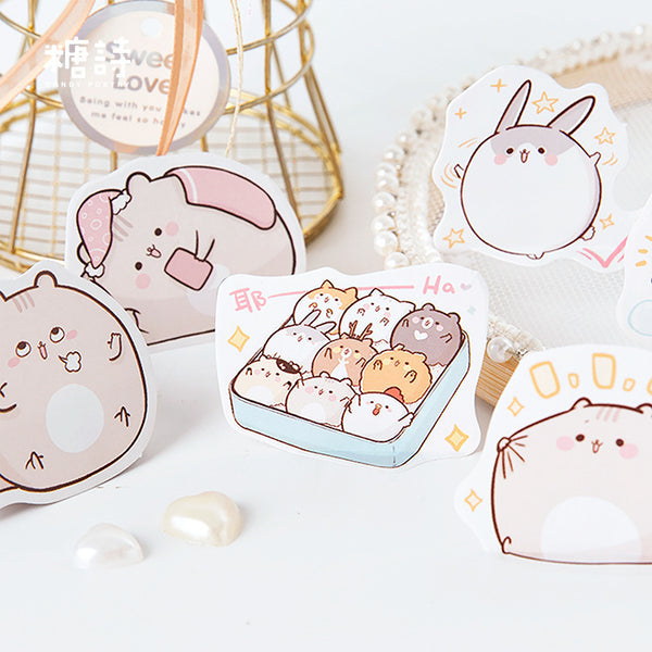Sphere Hamster Stickers