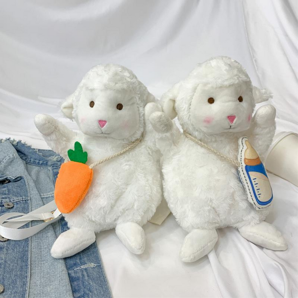 Plush Sheep Doll Bag