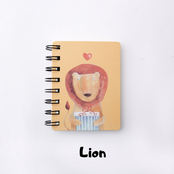Animal Coil Mini Notepad