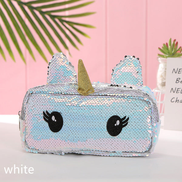 Colorful Sequins Unicorn Storage Bag