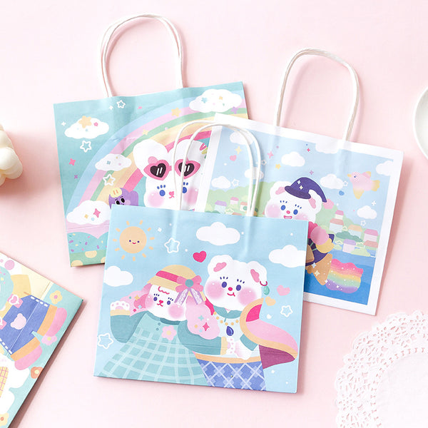 Bunny Bear Paper Gift Bags