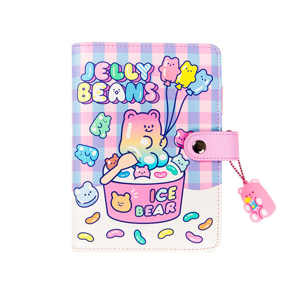 Jelly Bear Loose-Leaf Hand Account