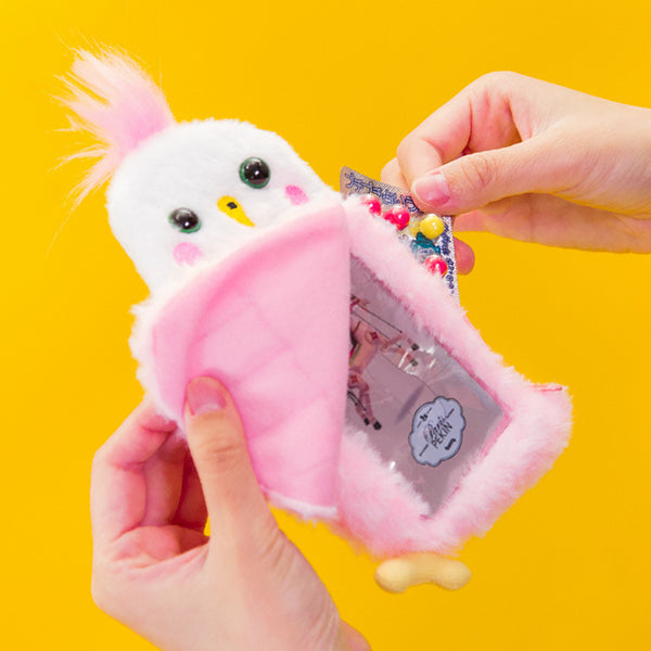 Bentoy Cute Retractable Rope Coin Purse