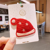 Woolen Christmas Hairpin