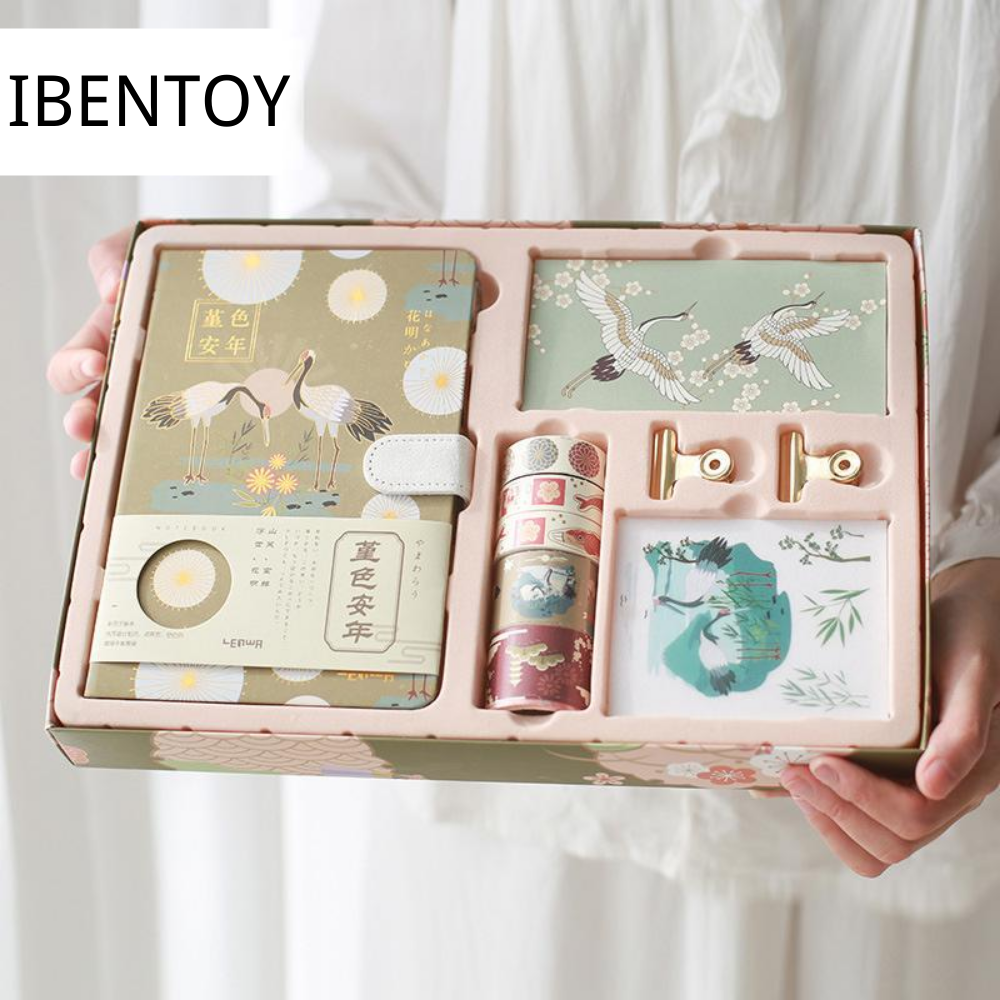 Ibentoy Lucky Bird Diary Gift Box