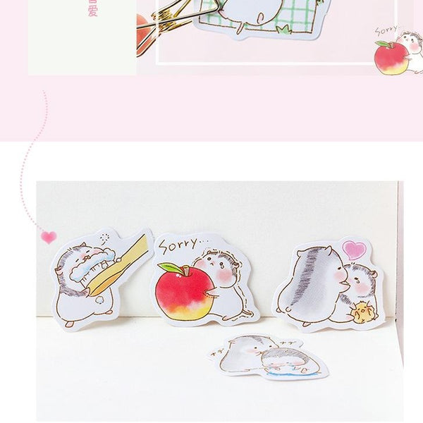 Cute Baby Hamster Sticker