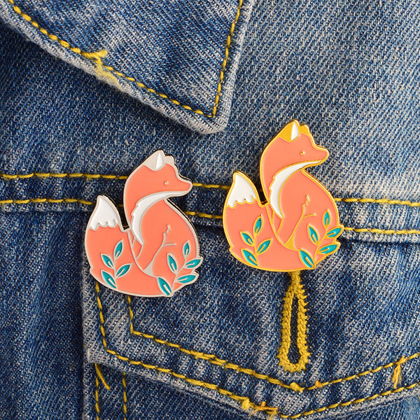 Forest Fox Pins