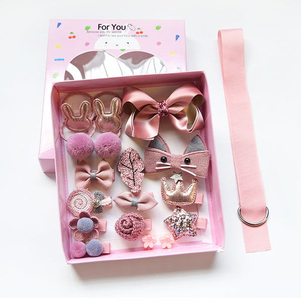 Korean Sweet Hair Clip Box