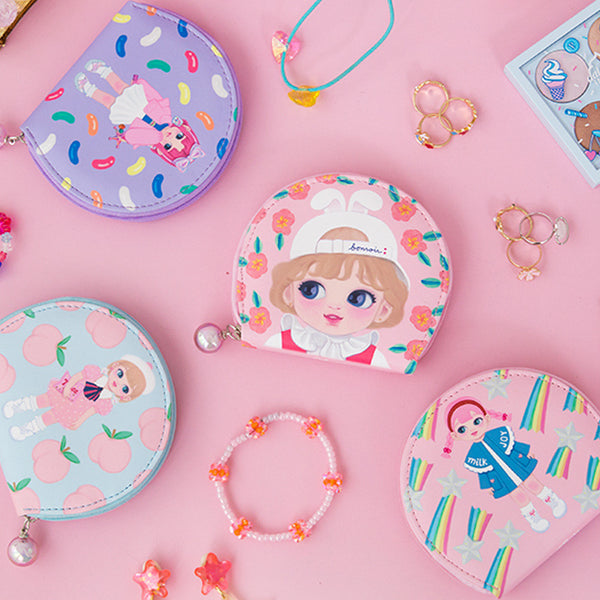 Milkjoy Cartoon Doll Girl Jewelry Bag