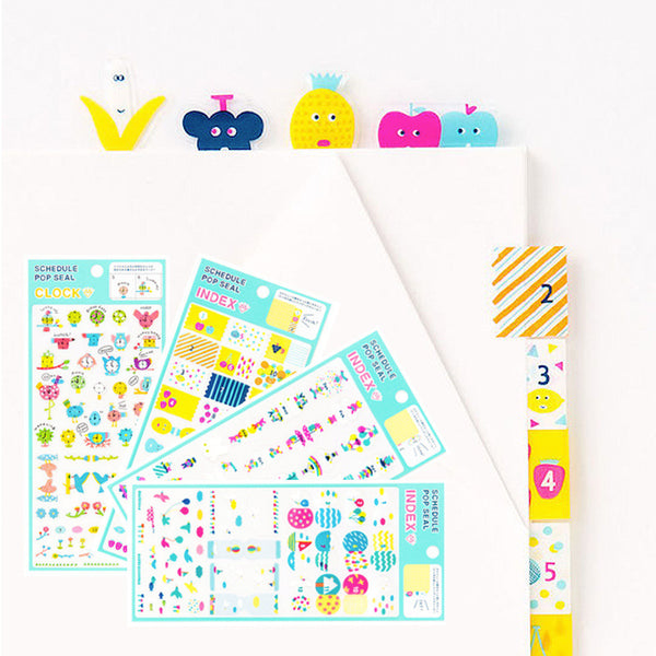 Transparent Cute Pvc Stickers