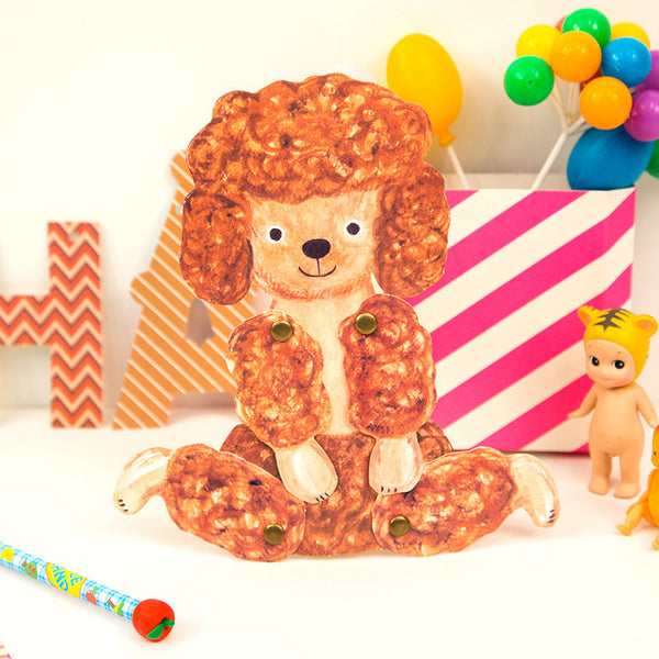 Bentoy Three-dimensional Pet Greeting Card