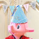 Bentoy Cute Striped Birthday Party Hat