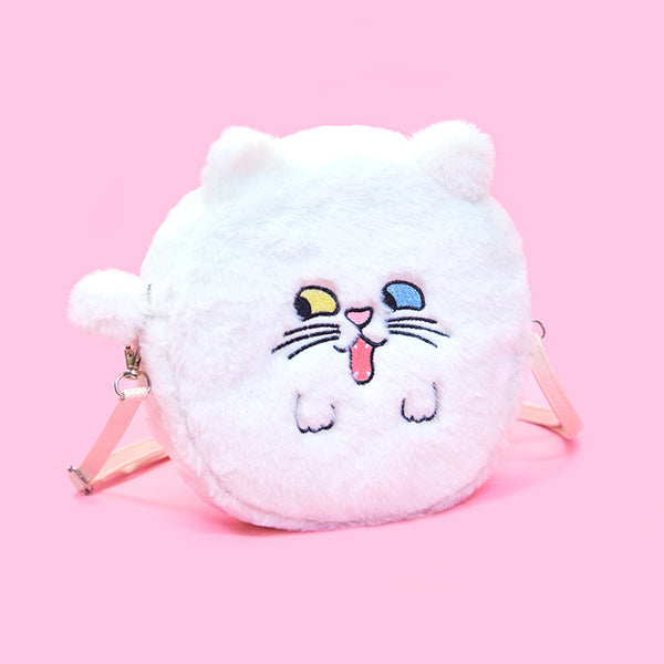 Bentoy Slant-eye Animal Round Shoulder Bag