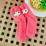 Cute big-eyed Floor Socks