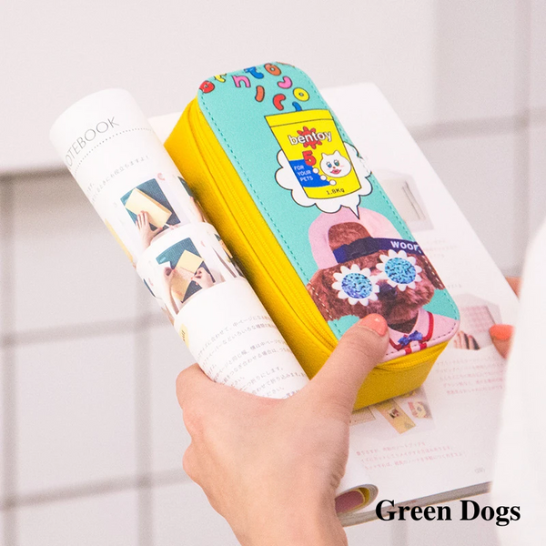 Bentoy Animal Printing Glasses Case