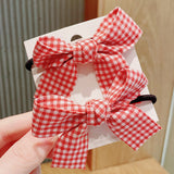 Red Bowknot Headrope