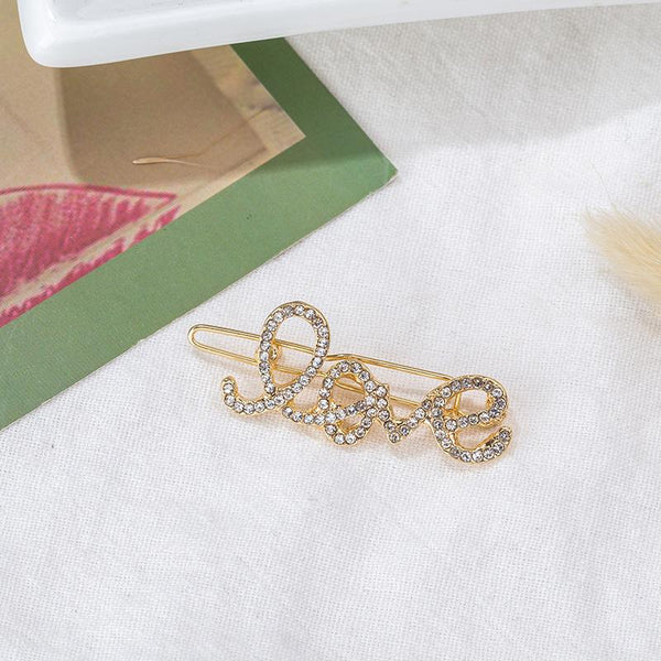 Mosaic Diamond Hair Clips