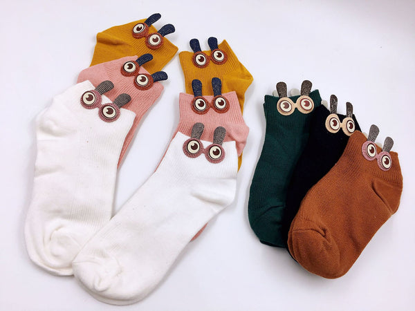 Cute Big Eyes Socks