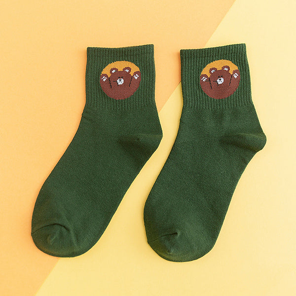 New Cartton Animal Socks