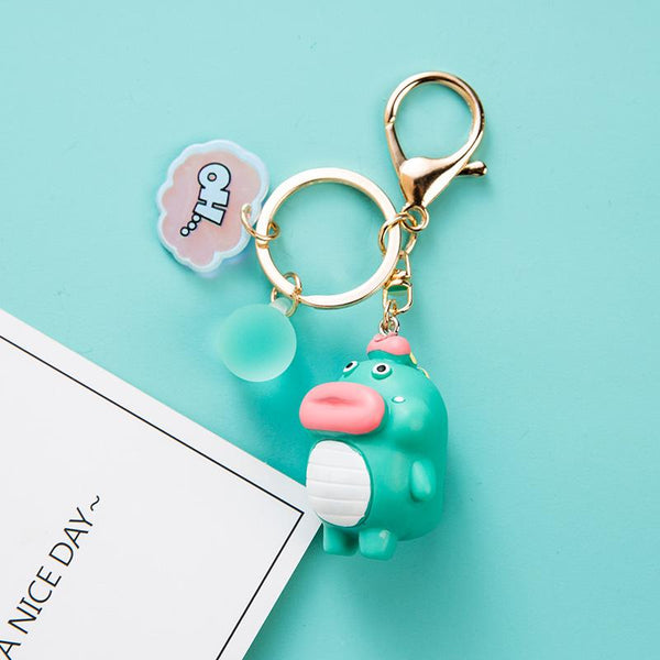 Cute Duck Doll Keychain