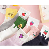 Cartoon Fruit Socks