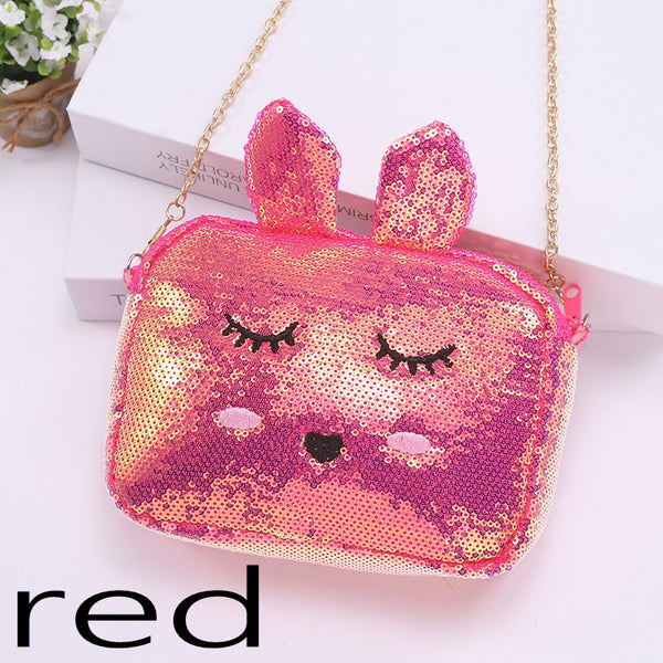 Sequined Cute Chain Shoulder Bag