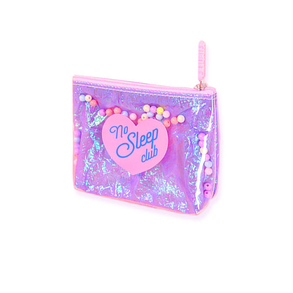 Milkjoy Sleepless Girl Beads PVC Purse