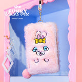 Bentoy Plush Cute Embroidered Coin Purse