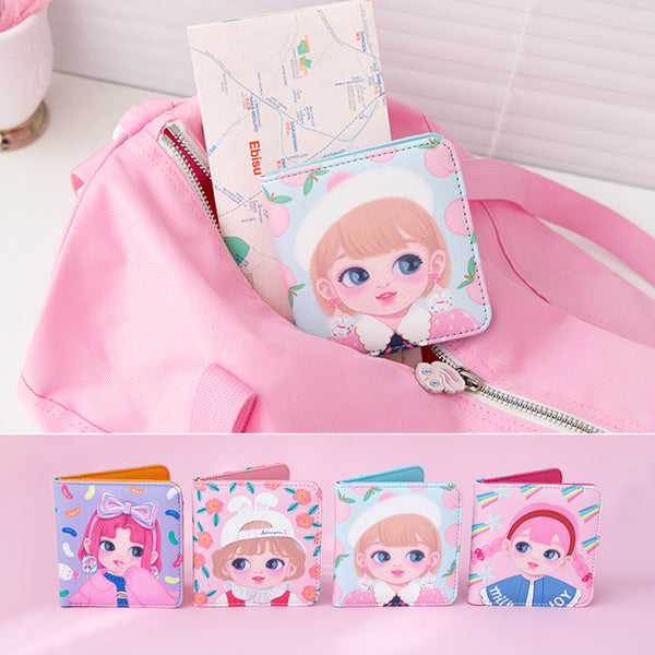 Milkjoy Dolly Girl Portable Small Wallet