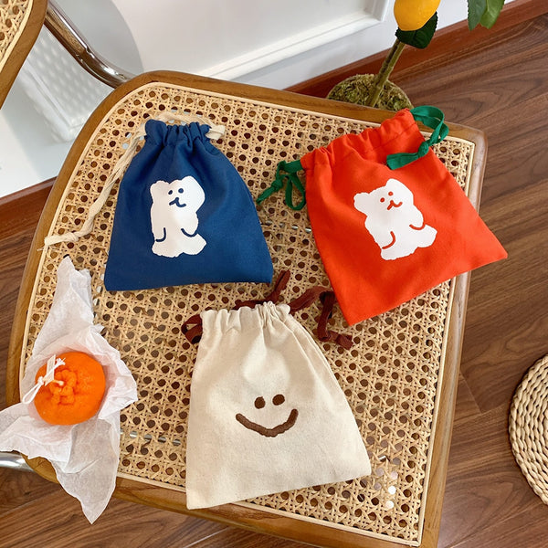 Cute Bear Storage Bag