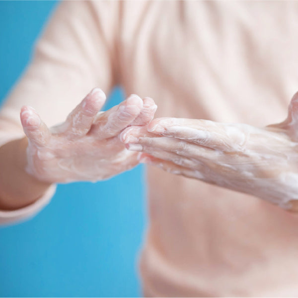 For chafed skin from frequent handwashing