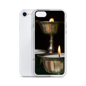 Cover per iPhone - Candele Buddiste - Overland Shop