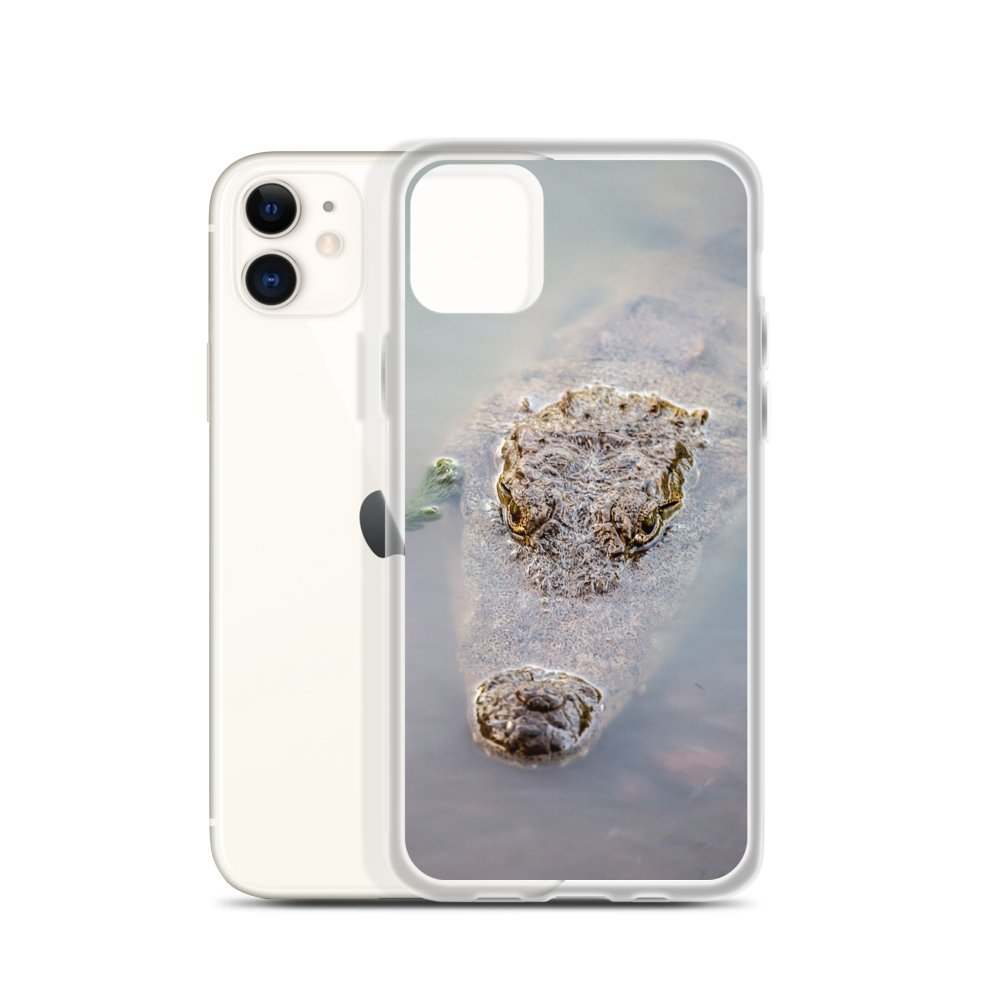 Cover per iPhone - Coccodrillo in agguato - Overland Shop