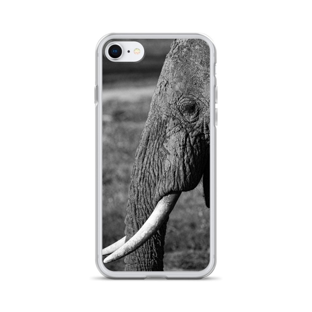 Cover per iPhone - Elefante in B&W - Overland Shop